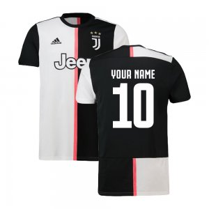 2019-2020 Juventus Adidas Home Football Shirt