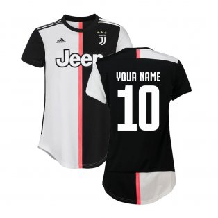 2019-2020 Juventus Adidas Home Womens Shirt (Your Name)
