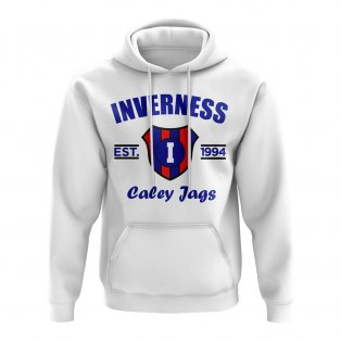 Inverness CT Established Football Hoody (White)