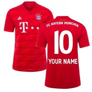 2019-2020 Bayern Munich Adidas Home Football Shirt (Your Name)