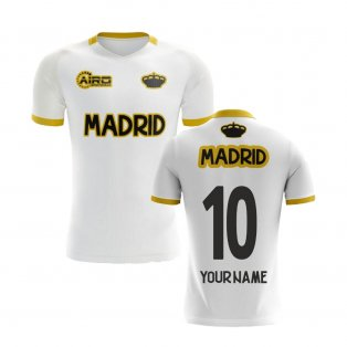 2020-2021 Madrid Concept Training Shirt (White) (Your Name)
