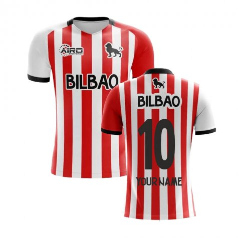 2019-2020 Athletic Bilbao Home Concept Football Shirt (Your Name)