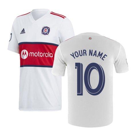 2019 Chicago Fire Adidas Away Football Shirt (Your Name)
