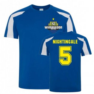 Will Nightingale Wimbledon Sports Training Jersey (Blue)