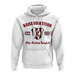 Kaiserslautern Established Football Hoody (White)