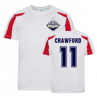 Ali Crawford Bolton Sports Training Jersey (White)