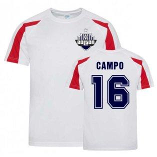 Ivan Campo Bolton Sports Training Jersey (White)