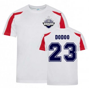 Joe Dodoo Bolton Sports Training Jersey (White)