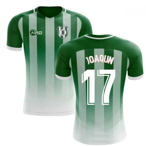 2020-2021 Real Betis Home Concept Football Shirt (Joaquín 17) - Kids