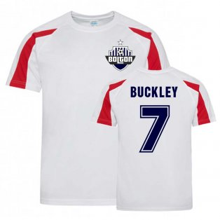 Will Buckley Bolton Sports Training Jersey (White)