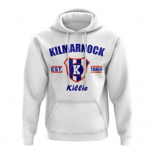 Kilmarnock Established Football Hoody (White)