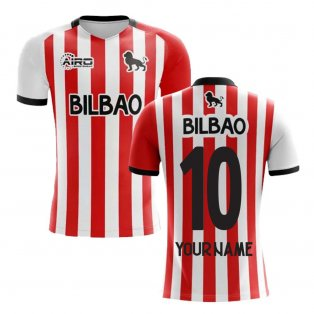2019-2020 Athletic Bilbao Home Concept Football Shirt - Kids (Your Name)