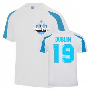 Dion Dublin Coventry Sports Training Jersey (White)