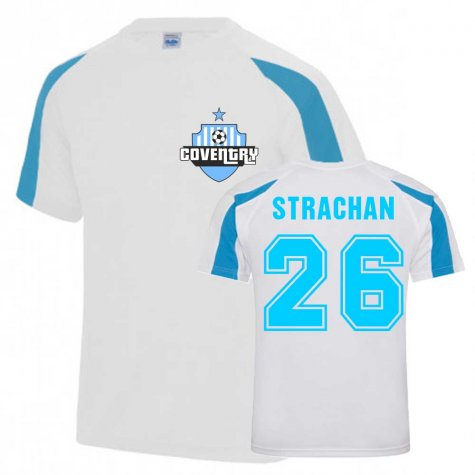Gordon Strachan Coventry Sports Training Jersey (White)