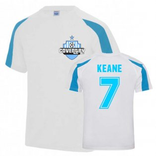 Robbie Keane Coventry Sports Training Jersey (White)