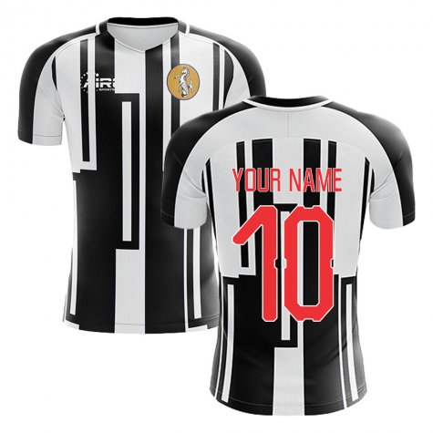 2020-2021 Newcastle Home Concept Football Shirt (Your Name)