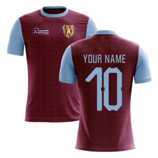 2020-2021 Villa Home Concept Football Shirt (Your Name)