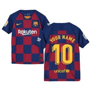 2019-2020 Barcelona Home Nike Shirt (Kids) (Your Name)