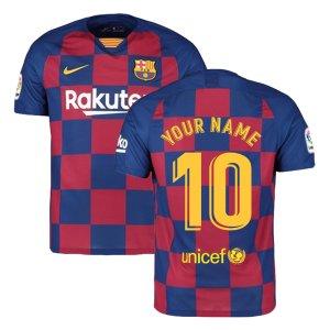 2019-2020 Barcelona Home Nike Football Shirt
