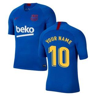2019-2020 Barcelona Nike Training Shirt (Blue) - Kids (Your Name)