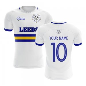 2020-2021 Leeds Home Concept Football Shirt (Your Name)