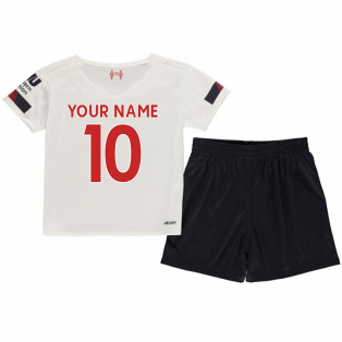 2019-2020 Liverpool Away Little Boys Mini Kit (Your Name)