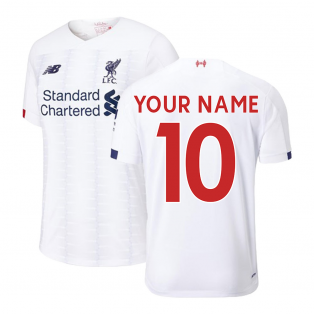 2019-2020 Liverpool Away Football Shirt (Kids) (Your Name)