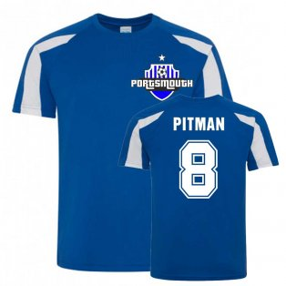 Brett Pitman Portsmouth Sports Training Jersey (Blue)