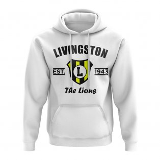 Livingstone Established Football Hoody (White)
