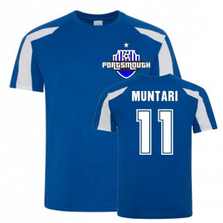 Sulley Muntari Portsmouth Sports Training Jersey (Blue)