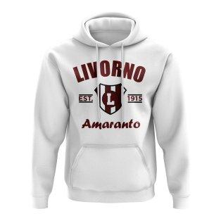 Livorno Established Football Hoody (White)