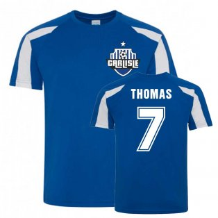 Nathan Thomas Carlisle Sports Training Jersey (Blue)