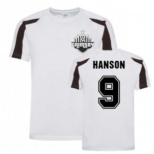 James Hanson Grimsby Sports Training Jersey (Black)