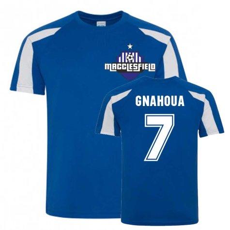 Arthur Gnahoua Macclesfield Sports Training Jersey (Blue)