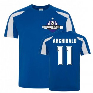 Theo Archibald Macclesfield Sports Training Jersey (Blue)