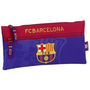 Barcelona FC Pencil Case With Two Zippers