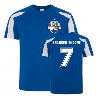 Johan Branger-Engone Oldham Sports Training Jersey (Blue)
