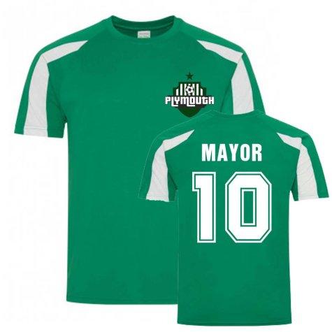 Danny Mayor Plymouth Sports Training Jersey (Green)
