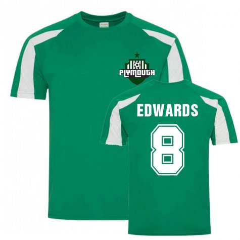 Joe Edwards Plymouth Sports Training Jersey (Green)
