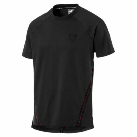 2017 Ferrari Puma Small Shield Tee (Moonless Night)