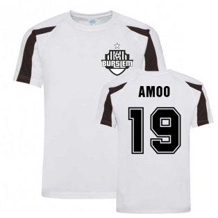 David Amoo Port Vale Sports Training Jersey (White)