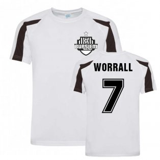 David Worrall Port Vale Sports Training Jersey (White)