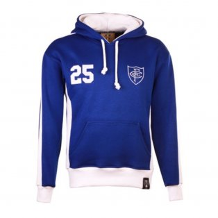 Chelsea Number 25 Retro Hoodie (Royal-White)