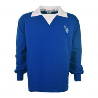 Everton 1970's Retro Football Shirt