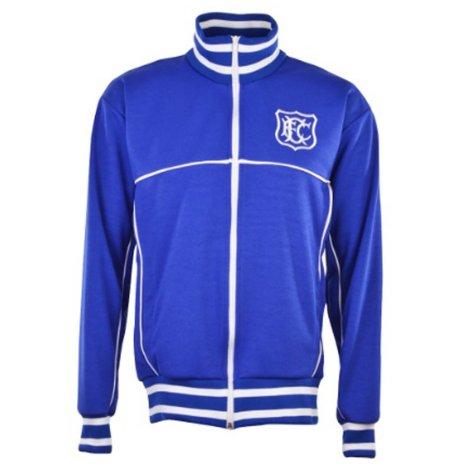 Everton Retro Track Top (Blue)