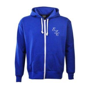 Everton Retro Zipped Hoodie