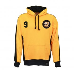 Hull City Number 9 Retro Hoodie