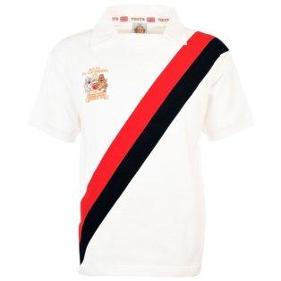 Manchester City 1976 League Cup Winners Retro Football Shirt