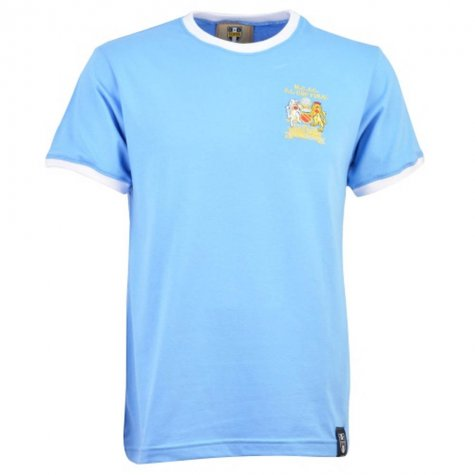 Manchester City 12th Man Retro T-Shirt- Ringer