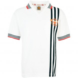 Manchester United 1978 Centenary Away Retro Football Kit